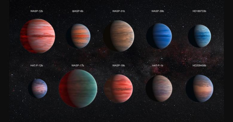 Астрономы обнаружили заполненную водой гигантскую планету
