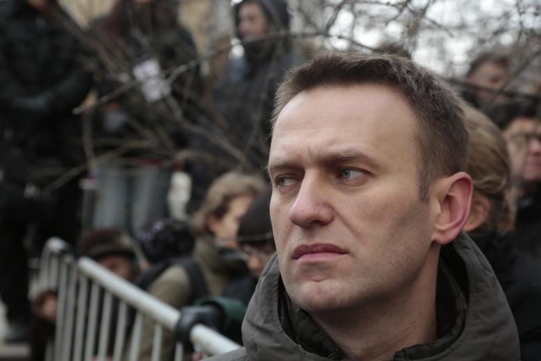 Алексей Навальный устроил акцию «вандализм» вместо бойкота