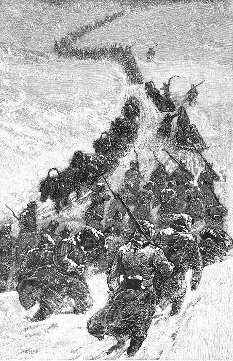 Иллюстрация из книги Джорджа Кеннана «Сибирь и система ссылки». Рисунок: Джордж Фрост