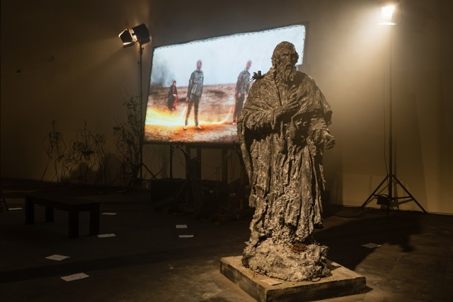 Фрагмент проекта «Lk 15, 11-32. Рембрандт. Посвящение. Александр Сокуров»