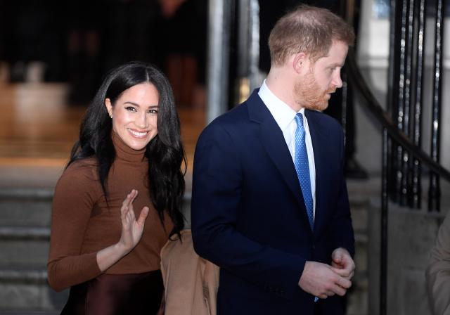 Принц Гарри и его супруга Меган Маркл. Фото: Toby Melville / Reuters