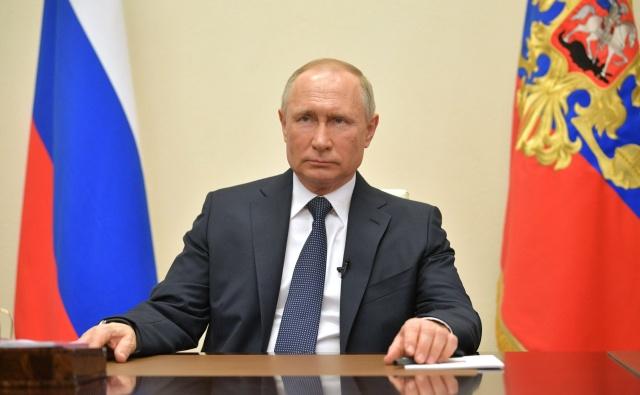 Обращение Владимира Путина к гражданам России, 2 апреля 2020 года. Фото: Kremlin.ru