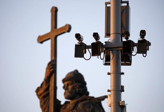 Камеры видеофиксации в Москве. Фото: Михаил Почуев / ТАСС