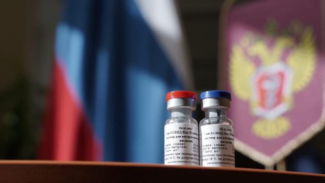 Вакцина для профилактики новой коронавирусной инфекции COVID-19. Фото: Минздрав РФ
