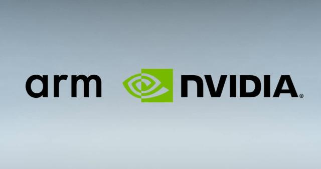 Логотип Arm  NVIDIA.