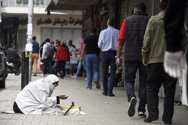 На улице Триполи, Северный Ливан. Фото: Wael Hamzheh / EPA / TASS