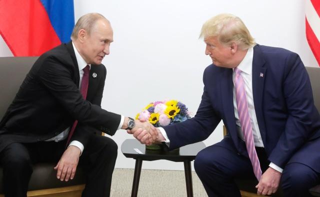 Владимир Путин и Дональд Трамп. Фото: Kremlin.ru