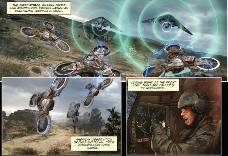 Для американской армии создали обучающие комиксы окибервойне