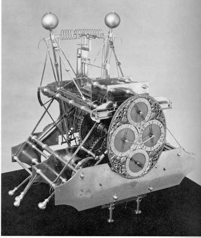 Первый хронометр, созданный в 1735 году