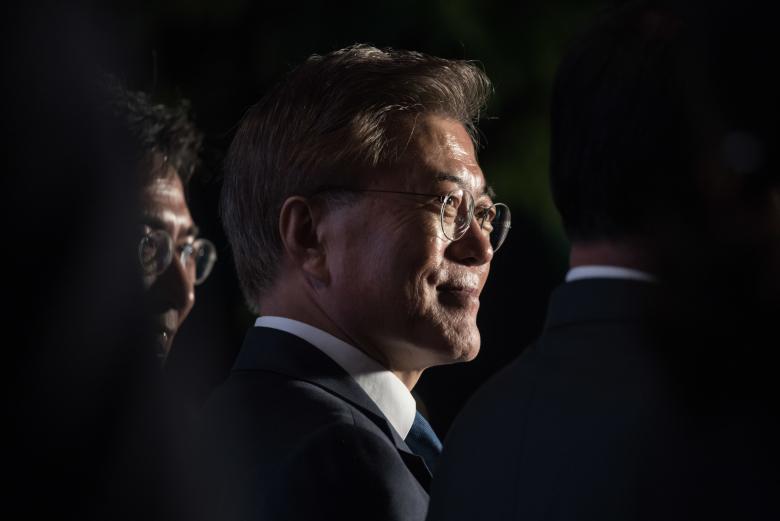 Делегация КНДР сообщила президенту Южной Кореи оготовности кпереговорам сСША