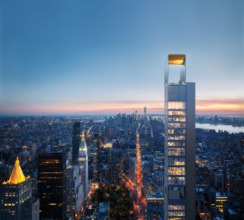 ВНью-Йорке возведут вышку попроекту русских архитекторов