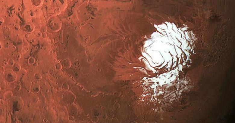Ученые обнаружили наМарсе озеро сводой