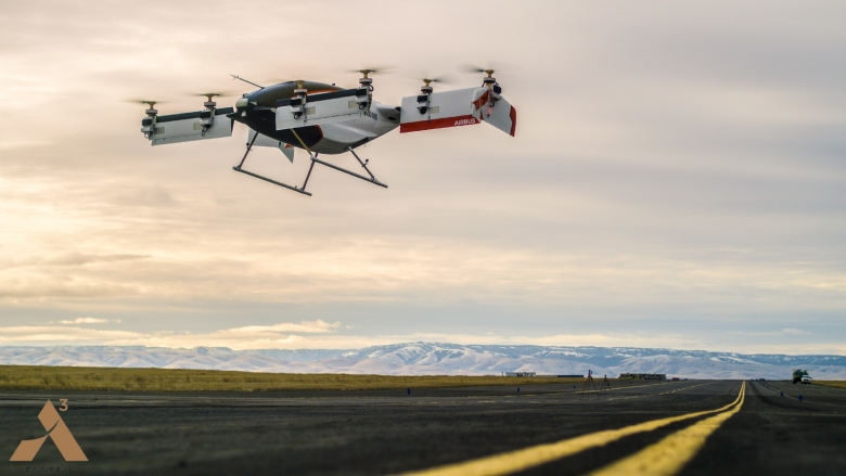 Прототип аэротакси Airbus