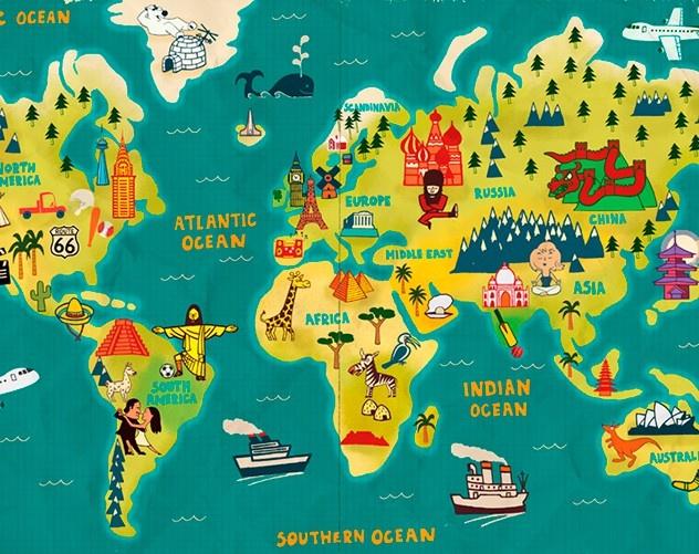 Прикольная картинка россия на карте, котенок доброе
