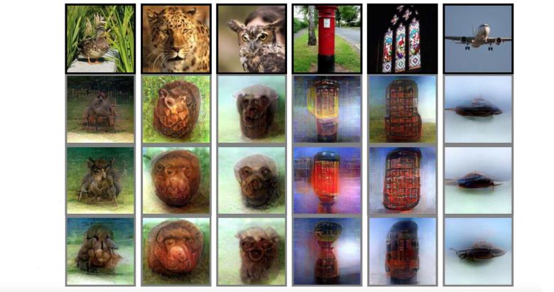 Японские ученые обучили  нейросеть создавать изображения измыслей человека