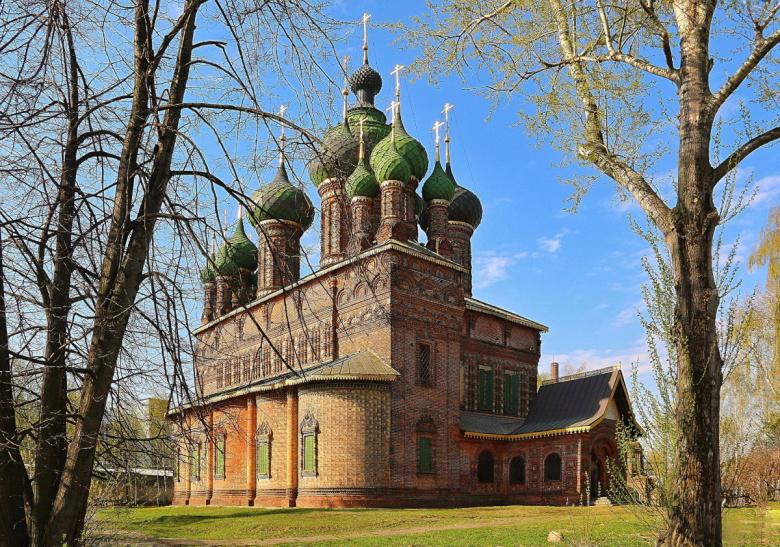 Церковь Иоанна Предтечи в Толчкове. Ярославль