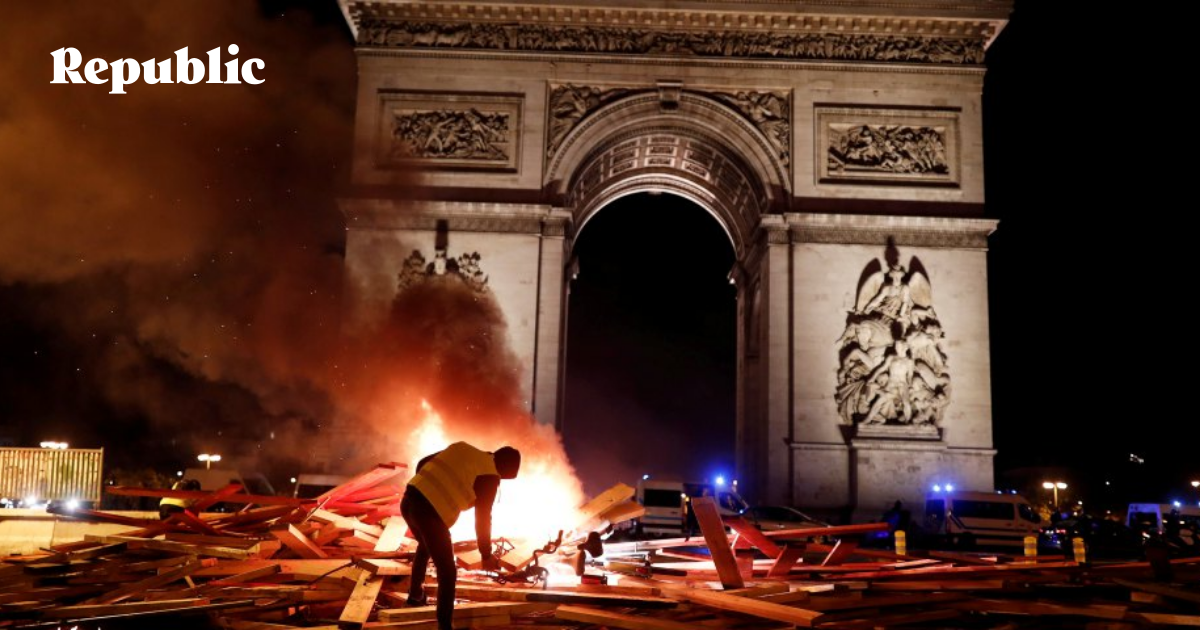 bbc france fuel unrest - 872×581